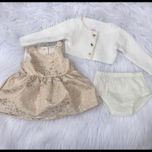 Other - 3 piece baby girl set